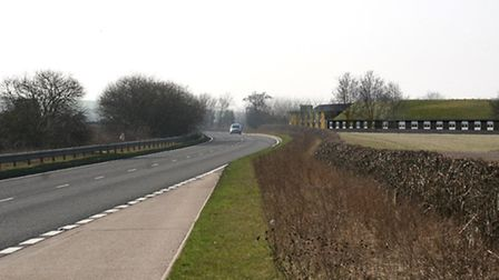 Artist's impression of the hotel proposed for the Horse and Groom site on the A505