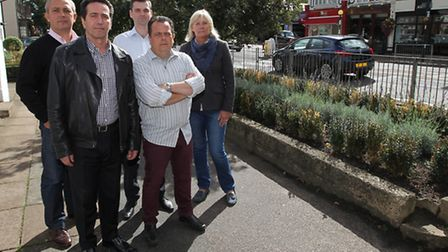 Harpenden Retailers and Business owners who have complained about the state of the flower beds they