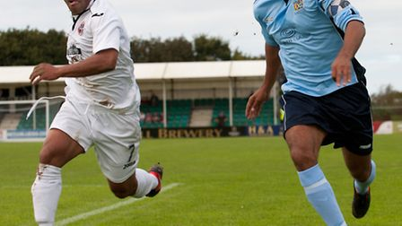 James Comley skippered City to their biggest win of the season, 7-3, away at Truro at the start of O