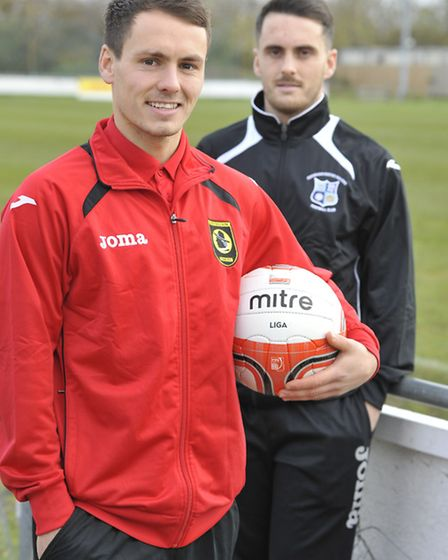 Mike Hyem moved from Godmanchester Rovers to Huntingdon Town during the summer. Picture: Helen Drake
