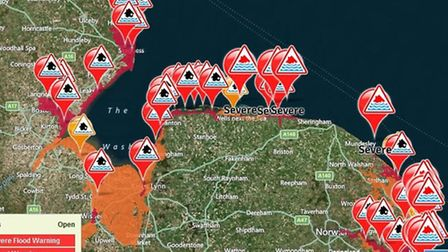 Lunchtime Thursday: Environment Agency flood and storm alert