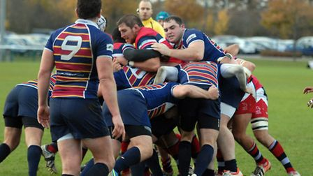 OA's try to stop Doncaster going over the line