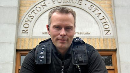 Royston Neighbourhood sergeant Jon Vine