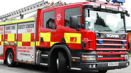 Crews tackled the blaze for around three hours