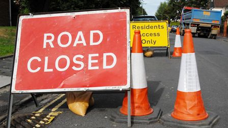 Crabtree Lane will be closed from 9.30am tomorrow