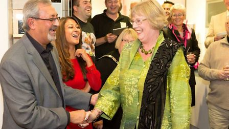 Tulsi Parmar's 40 years of business in Harpenden were celebrated with a big party