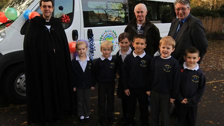 Rev. Johnathan Jasper, Rebecca Holden, Adam Sleath, Millie Wood, Lucas Reay, Connor McGuire, Finley