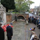 The service taking place in Royston