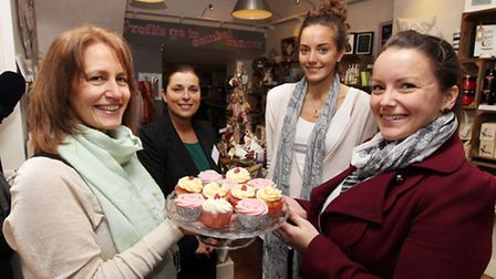 Raindrop on Roses celebrate their 1st Birthday by handing out cupcakes to every paying customer. Sho