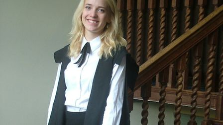 Carenza Harvey, former head girl of Sandringham School, St Albans, has been at the forefront of a mo