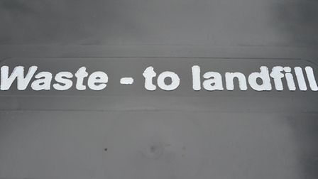 Use of the landfill site is drawing to an end.