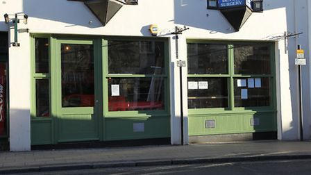 The retail Unit on Chequer Street into which Jamie's Italian is expanding