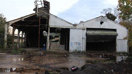 The barn where the rave took place