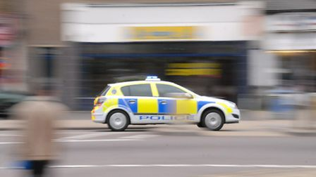 Emergency services were called to Priory Lane in Little Wymondley following a car crash