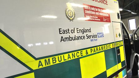 The ambulance service were called