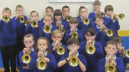Year Six have been learning the trumpet and the clarinet since September