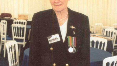 Sylvia served on the home front during the Second World War
