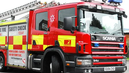 Two fire engines attended the incident in Bricket Wood