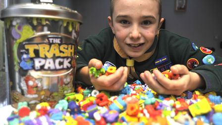 The Trash Pack toy that sold on Ebay by Lewis Eeles of alconbury
