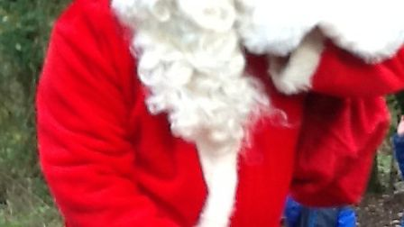 Father-Christmas-in-the-forest