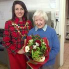The Mayor with Mrs Maw