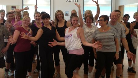 The Dance Fusion class for the Typhoon Appeal takes place on December, 14
