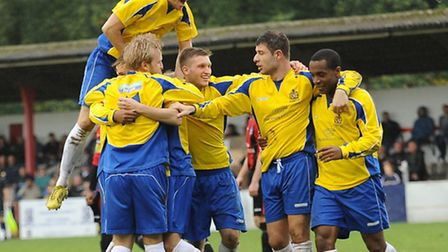 St Albans City in action. Picture by Bob Walkley