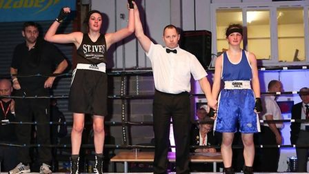 Shona Whitwell is now a four-time national schoolgirl champion.
