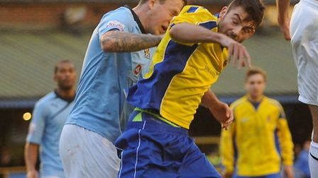 City are hoping to sign current loanee Tom Ward from Gainsborough Trinity. Picture: Bob Walkley