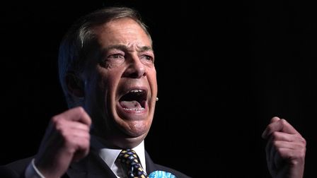 Leader of the Brexit Party Nigel Farage. (Photo by Christopher Furlong/Getty Images)