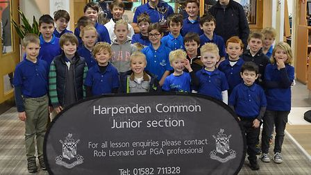 Pictures from the Rob Leonard Academy Junior Championships, held at Harpenden Common Golf Club.