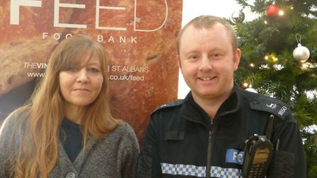 Michelle Taylor and PC Shaun Woods