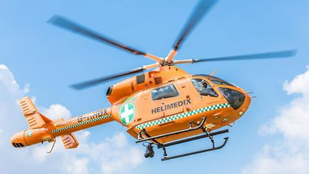 The Magpas Air Ambulance was called to the scene