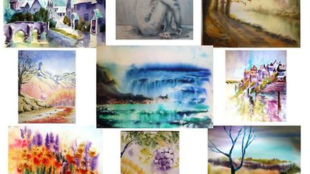 Paintings from Wicked art lessons