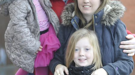 The Stone family are organising a charity ball and auction to raise money for Leukaemia, (l-r) Eryn