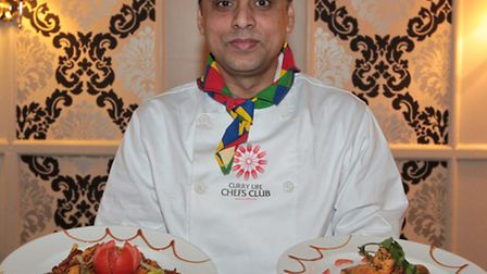Altaf Hussain has been selected to represent Britain at an international curry festival in Slovenia.