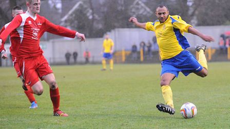 James Comley scored City's third against Frome Town. Picture: Bob Walkley