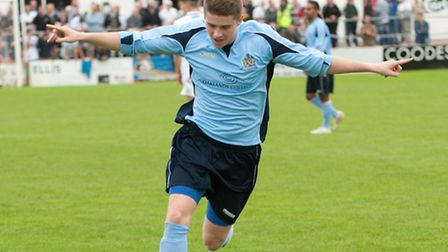 Elliot Bailey spent a long on loan at Bedford Town. Picture: Bob Walkley