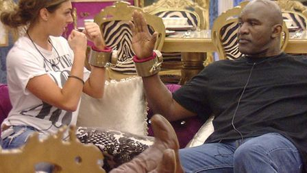 Luisa Zissman and Evander Holyfield are up for tonight's fake eviction