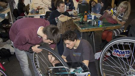 Volunteers are getting ready for Royston's first repair cafe
