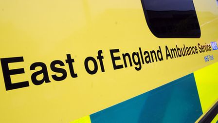 Ambulance crews were called out to the incident