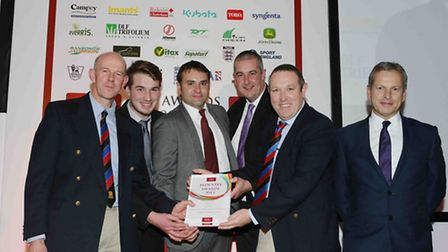 The grounds care team at St Albans School has won an award at the IOG Industry Awards