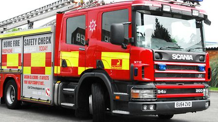 Firefighters at Royston Fire Station have been praised for their quick actions