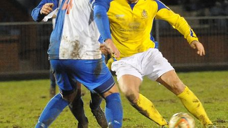John Frendo scored his 30th of the season on Tuesday night at The Gore. Picture: Bob Walkley