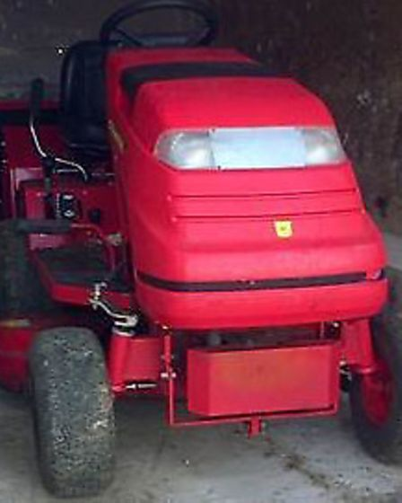 The court ordered the lawnmower to be auctioned or destroyed