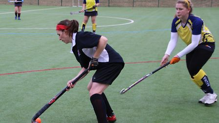 Zoe Andrews was voted the women's 2nd team's player of the game.