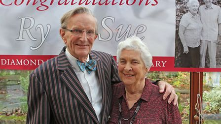Ryland and Sue Clendon celebrate their 60th wedding anniversary
