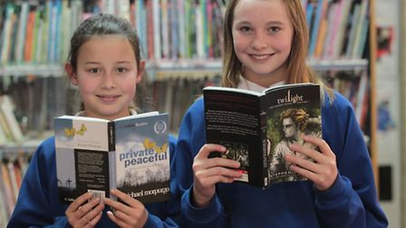 Ellie Clark and Alice Eves are taking part in a readathon