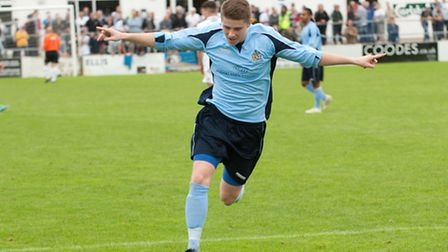 Elliot Bailey has been loaned out to Colney Heath. Picture: Bob Walkley