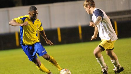 Former Arsenal and Leiceser City player Kerrea Gilbert impressed in his St Albans City debut on Mond